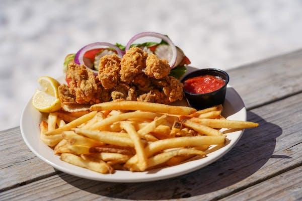 Fried Oyster Po-Boy