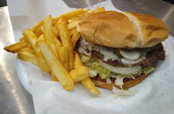 Blazin Burger Combo