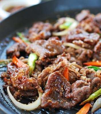 Hot Sizzling Plate