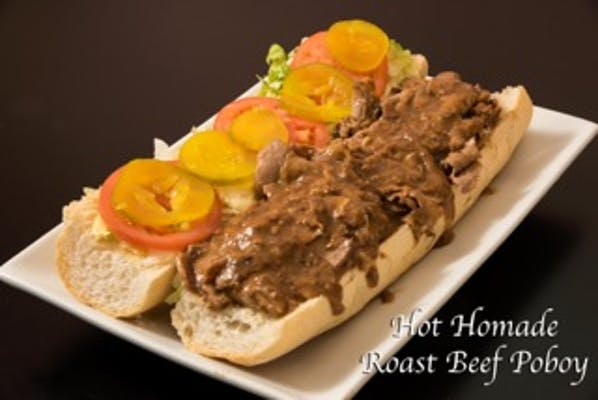 Hot Roast Beef Poboy