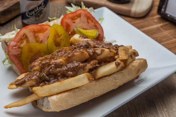 French Fry Poboy
