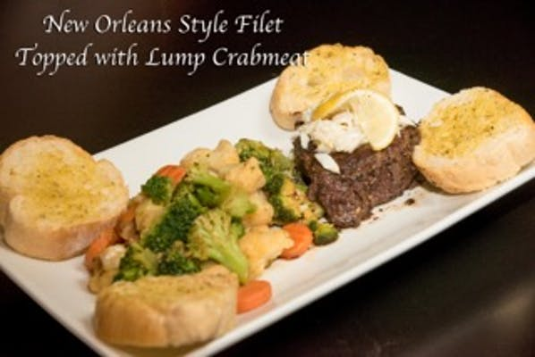 New Orleans Style Filet Mignon