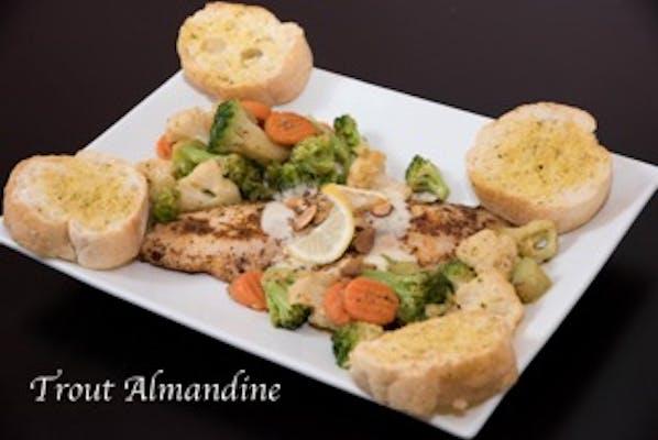 Trout Almondine