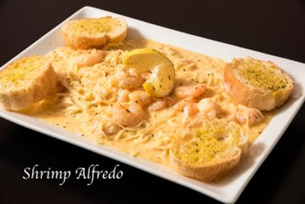 Lunch Shrimp Alfredo