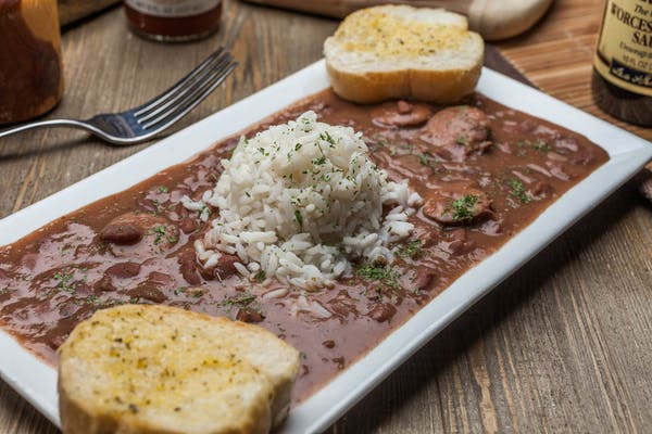 Lunch Red Beans & Rice with Sausage
