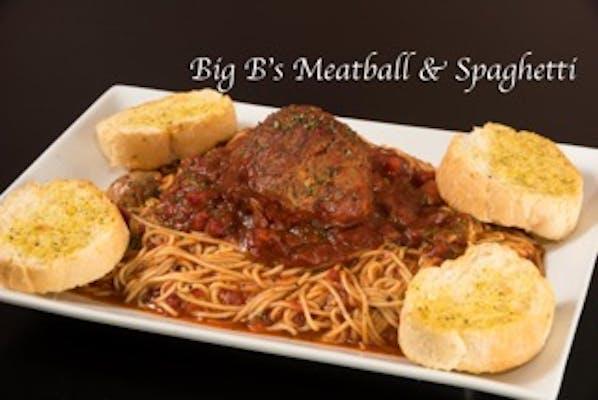 Big B's Meatball & Spaghetti
