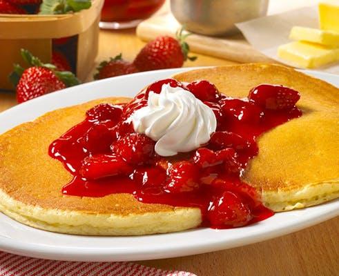 Strawberries & Cream Sweet Cakes