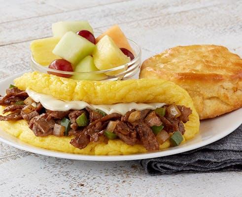 Omelet-Philly Cheesesteak