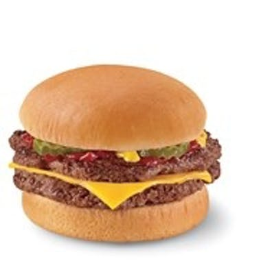 Double with Cheeseburger