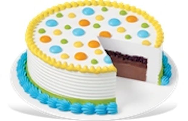 Standard Celebration Cake - DQ Cake