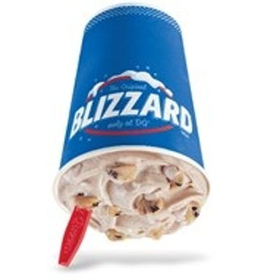 Chocolate Chip Cookie Dough Blizzard® Treat