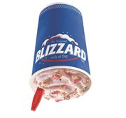 Frosted Animal Cookie Blizzard® Treat