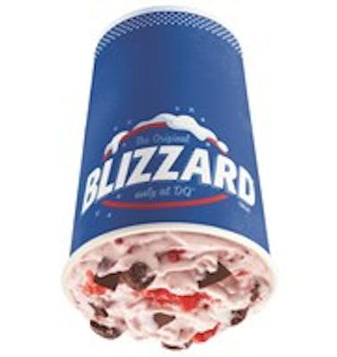 Raspberry Fudge Bliss Blizzard® Treat