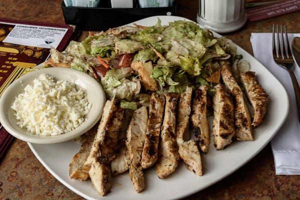 Fattoush Tawook Salad