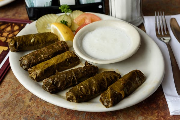 Grape Leaves Dinner