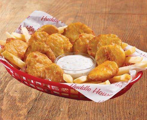 Fried Pickles Basket