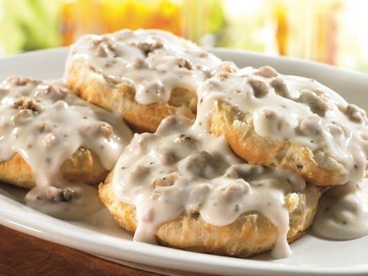2 Biscuits & Gravy