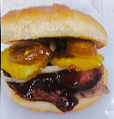 2. Brisket Sandwich