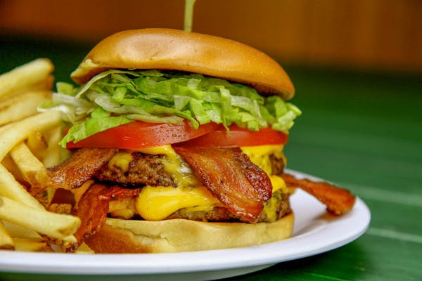 OMG Bacon Cheeseburger
