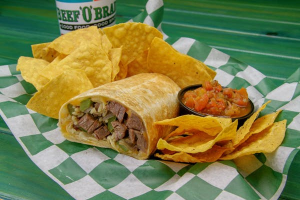 The Steak Burrito