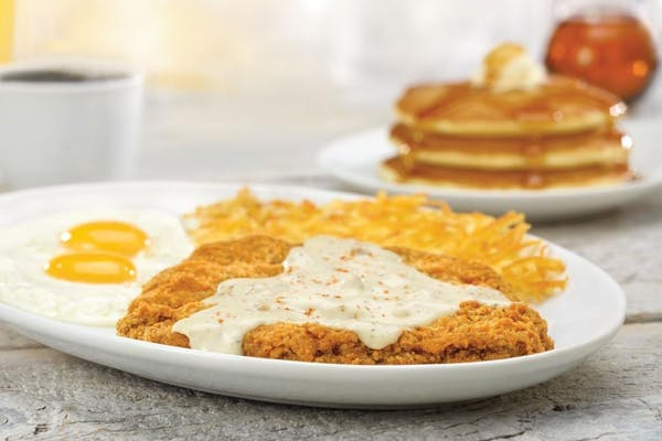 Chicken Fried Steak & Eggs