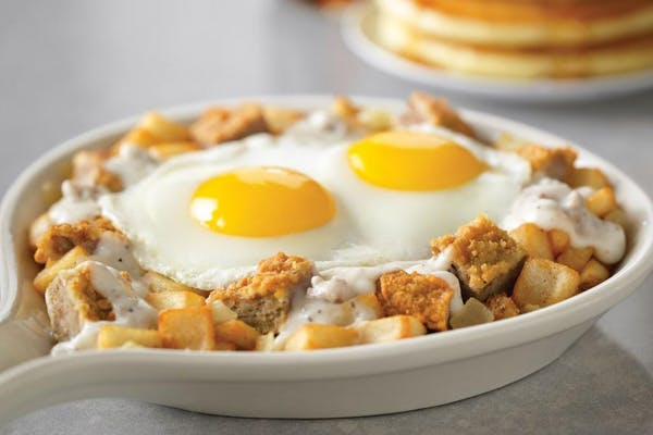 Chicken Fried Steak Skillet