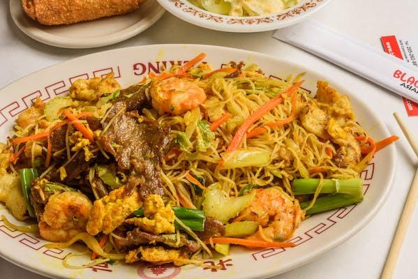 P3. Singapore Rice Noodles