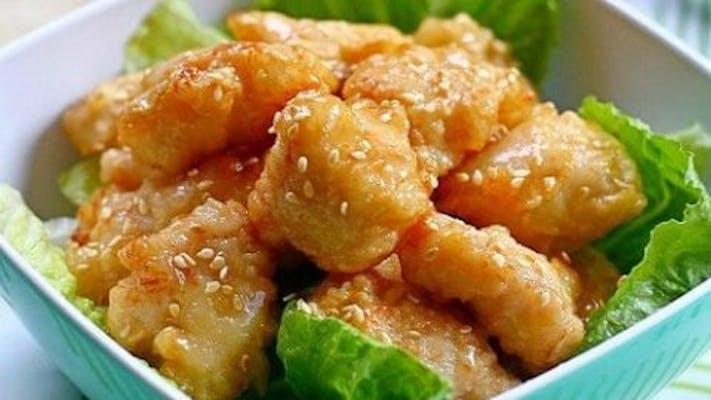5. Honey Chicken