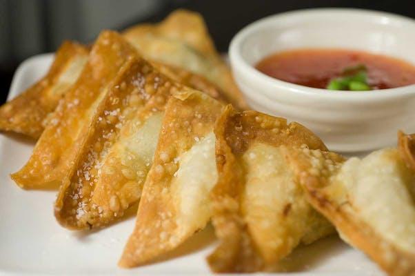 6. Fried Cheese Wonton (8)