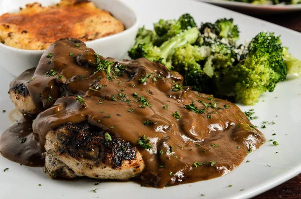 Grilled Chicken Marsala