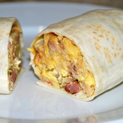Bacon, Egg & Cheese Burrito