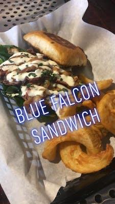 Blue Falcon Sandwich