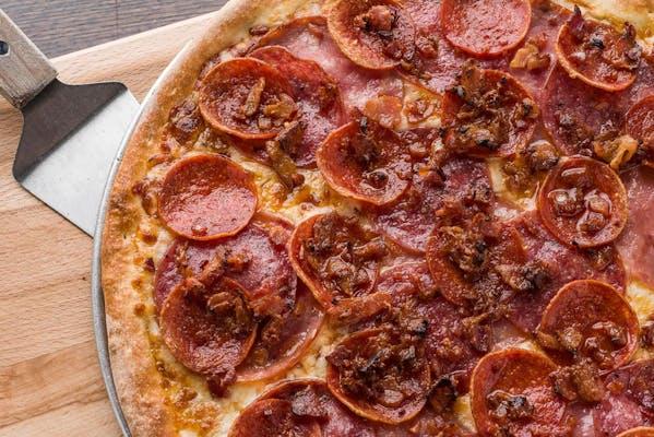"(8"") Half CYO / Half Signature Pizza"