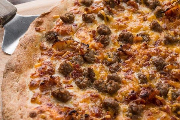 "(12"") Half CYO / Half Signature Pizza"