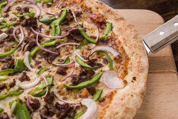 "(18"") Half CYO / Half Signature Pizza"