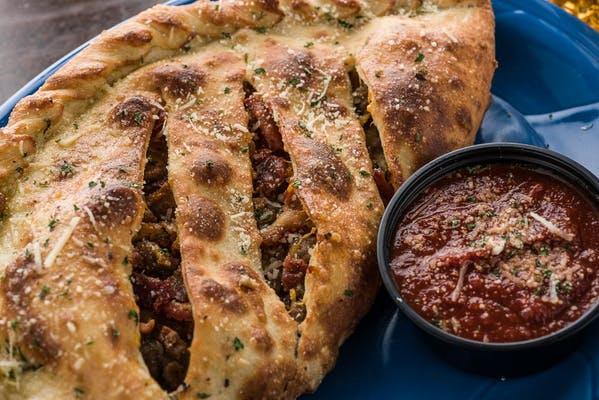 Bacon Cheeseburger Calzone