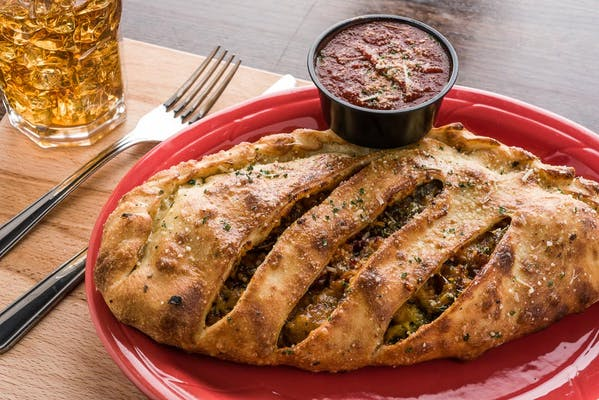 The Angry Pig Calzone
