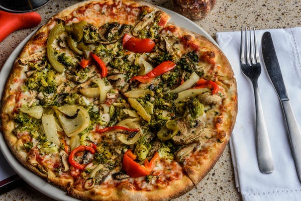 Wood-Roasted Vegetable Pizza