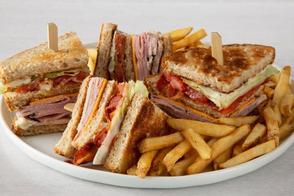 Double Decker Club Sandwich