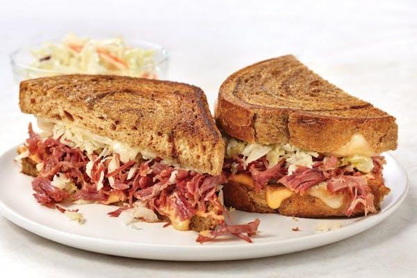 Marbled Rye Reuben Sandwich