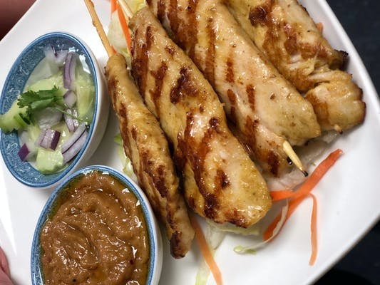 1. Satay Chicken