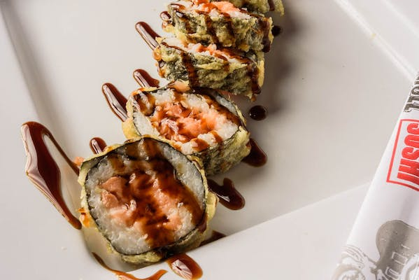 Crunchy Salmon or Tuna Roll