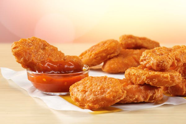Spicy McNuggets Medium Meal