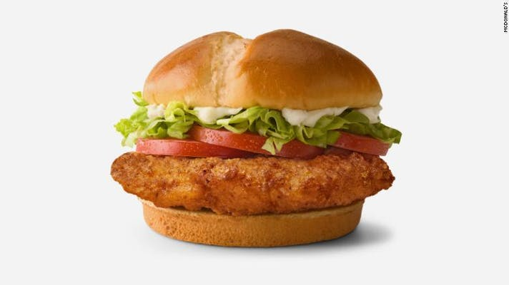 Deluxe Crispy Chicken Sandwich