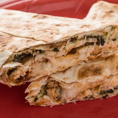 Chicken Florentine Wrap