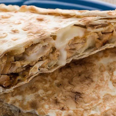 Chicken Alfredo Wrap