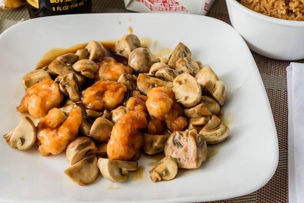 SF10. Shrimp w. Mushroom