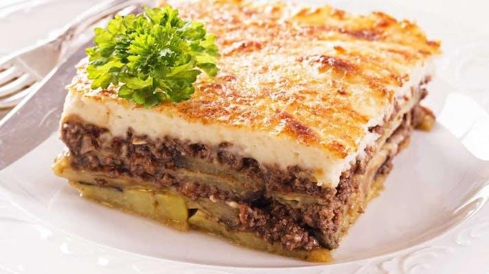 Meat Moussaka Plat