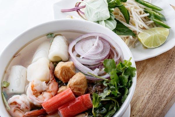 Combination Noodle Soup