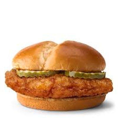 Crispy Chicken Sandwich Meal